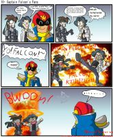 Captain Falcon's Fans by BrokenTeapot