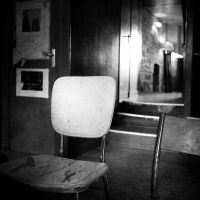 Empty chairs by burzinski