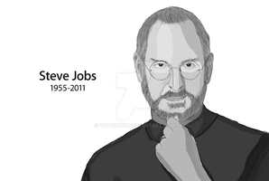 Steve Jobs by w4terboy