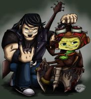 The Boys of Double Fine by Nintendo-Nut1
