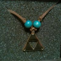 Handmade triforce necklace by bGilliand