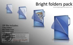 Bright folders pack by BrightKnight