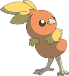 Torchic by Wakerra