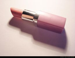 Pink Lipstick by indolosse