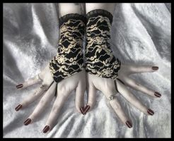 Eurydice Fingerless Gloves by ZenAndCoffee