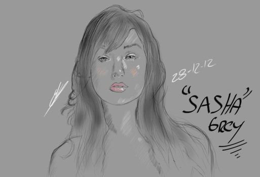 Sasha Grey by Guasonchileno
