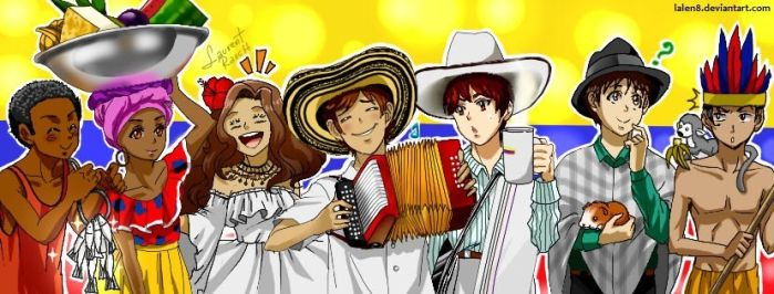 Colombia and its regions, Colombia y sus regiones by lalen8