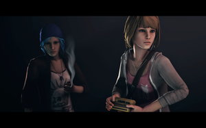Max and Chloe (Life is Strange) by nikoskate