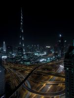 Spagetti Junction Dubai - II by InayatShah