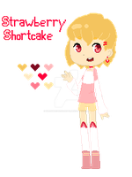 { Adoptable Auction: Strawberry Shortcake }[OPEN] by SweetMacaronAdopts