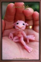 GOOBLE the goblin MICRO BJD by DreamHighStudio