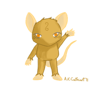 Pumpkin Spice Mouse by Wuvu777