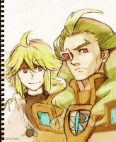 Ghetsis and N by rekuroBis