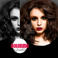 Cher Lloyd Coloring by toottii