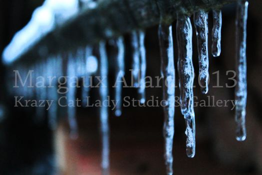 Wood Shed Icicles by KattyLady