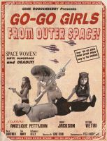 Go Go Girls From Outer Space by Johnny-Radar