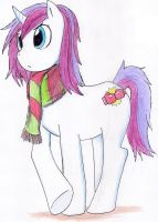 Pony OC: Knuckle Berry by hewhowalksdeath