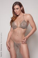 Teagan - Bra top and Loin Cloth by graywolfsmaille