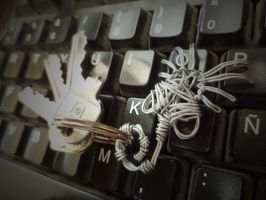 Facehugger key chain by TheWallProducciones