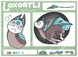 Lox the Finnedyr Reference Sheet by lion-and-goldfish