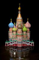 St Basil's Cathedral by RaynePhotography