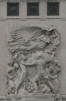 Relief in Chicago by Melusine-Designs