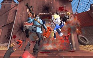 The Derpy Assault on 2Fort by DFA-Studios