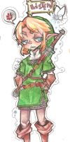 LoZ Link :colored: by TurvyTops
