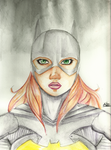 Batgirl - Color by KatsurinaAether