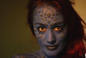 Mystique fever by MissVixy