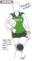 TMNT-U - Volleyball Uniform by nichan