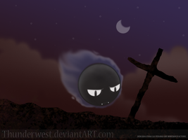 Gastly.... by Thunderwest