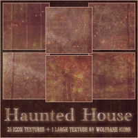 Haunted House Texture Set by jordannamorgan