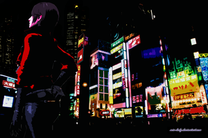 Tokyo Girl - RE6 Wallpaper by little--miss--mia