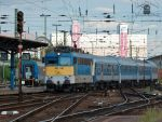 431 140 with an IC train in Budapest by morpheus880223