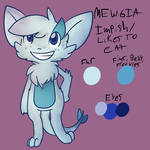 Reference - Mewgia by Snow-ish