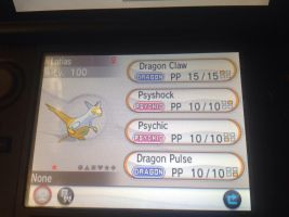 Shiny latias for sale! (Hacked) by alucardserasfangirl