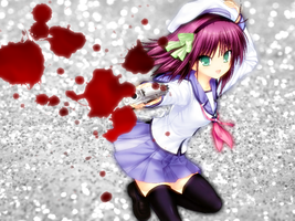 (Angel Beats!) Yurippe- Hardcore Killer! by Shayna717