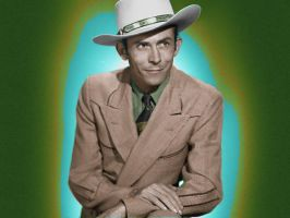 Hank Williams Colorized by OldHank
