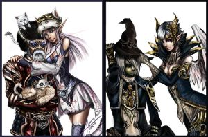 Lineage II by HellyonWhite