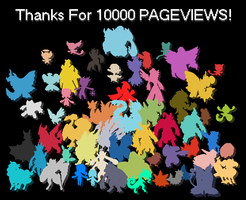 Thanks For 10000 Pageviews! by BrendanBass