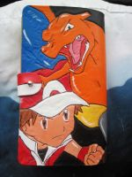 Red and Charizard by marauderfaze