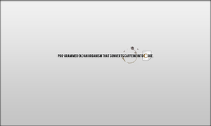 Programer wallpaper by TheGraphicGeek