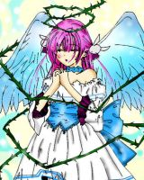 Collab: Fallen Angel by dreams-celestial