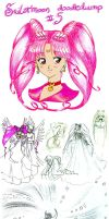 Sailormoon doodledump 5 by NitroFieja
