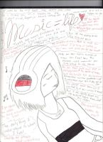 Music equals life by XNightdreamxDaymareX