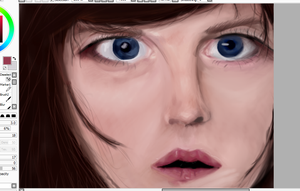 Female Castiel from Supernatural WIP by Artieukchan