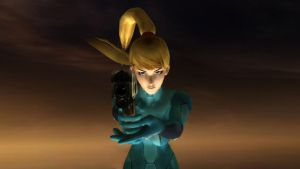 She is Samus, say hello to her little friend... by tamalesyatole