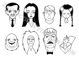 Addams Family by zainocof