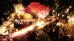Ao no Exorcist Shura HD by Sl4ifer